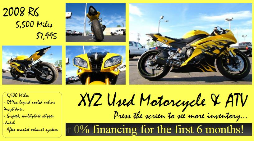 Motorcycle Dealer Template