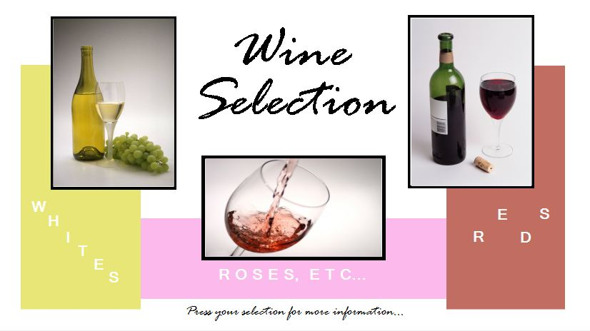 Wine Selection Template
